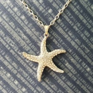 Jewelry - Silver Starfish Necklace